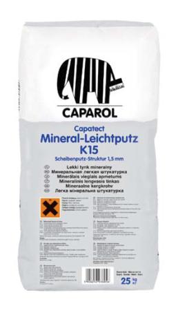 Capatect-Mineral-Leichtputz R 30, K 15, K 20, K 30