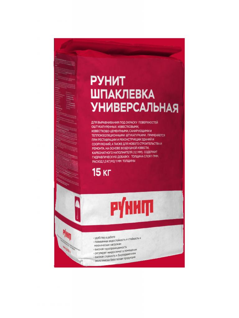 Рунит Шпаклевка Универсальная