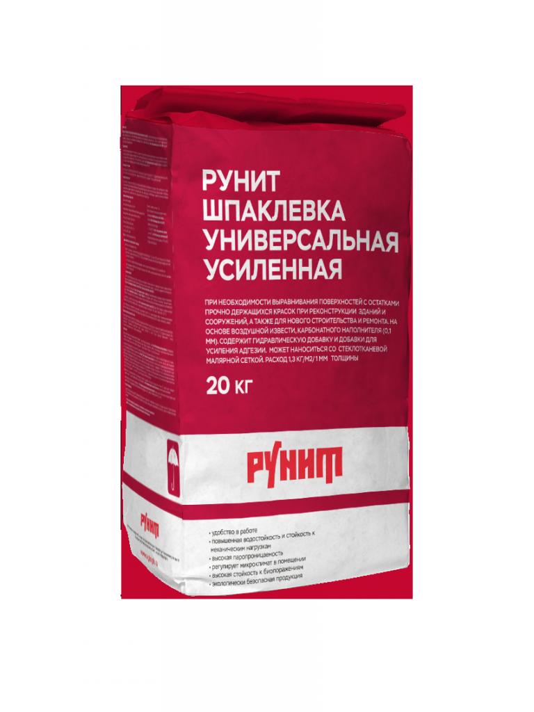 Рунит Шпаклевка Универсальная усиленная