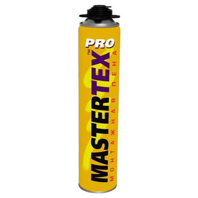 Pena montazhnaya professionalnaya MASTERTEX 750 PRO
